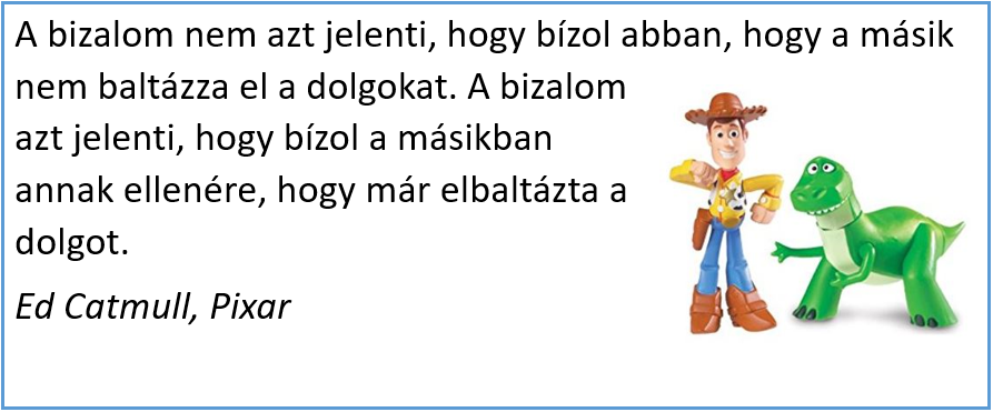 cégkultúra pixar idézet 2