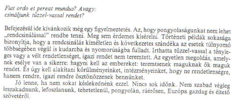 Pongyola társadalom Hankiss Elemér