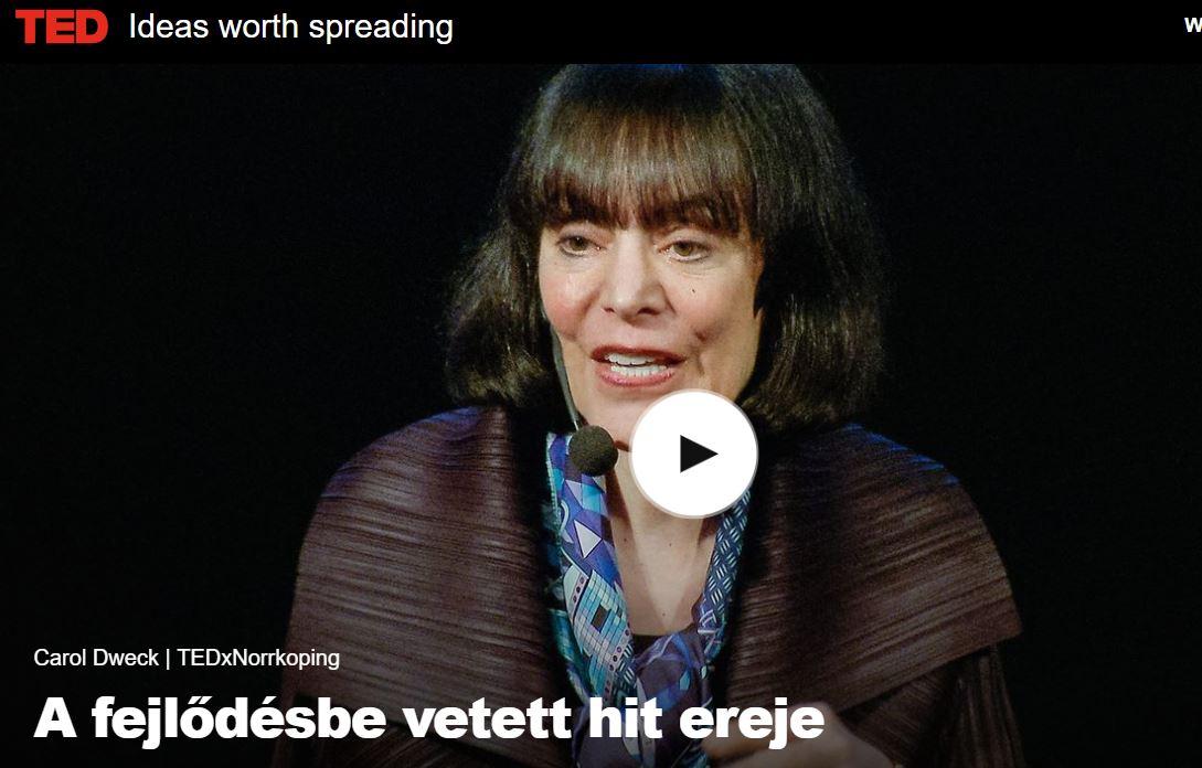 Carol Dweck A fejlődésbe vetett hit ereje - vezetőképzés